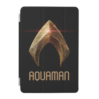 Protection iPad Mini Symbole métallique de la ligue de justice |