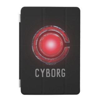 Protection iPad Mini Symbole rougeoyant de cyborg de la ligue de