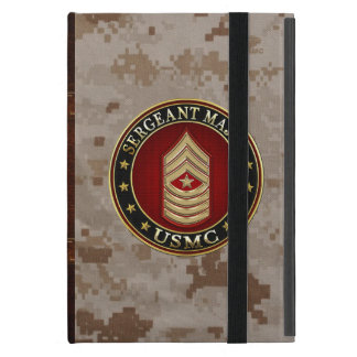 Protection iPad Mini U.S. Marines : Commandant de sergent (usmc SgtMaj)