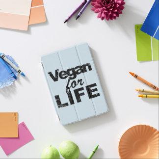 Protection iPad Mini Végétalien pendant la VIE (noir)