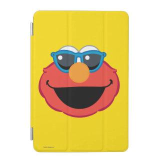 Protection iPad Mini Visage de sourire d'Elmo avec des lunettes de