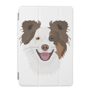 Protection iPad Mini Visage heureux border collie de chiens