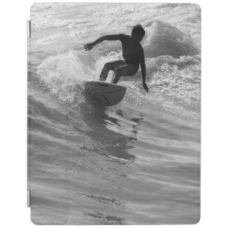 Protection iPad Monte de la gamme de gris de vague