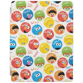 Protection iPad Motif de caractère de cercle de Sesame Street