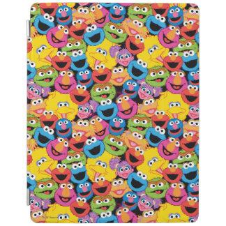 Protection iPad Motif de visages de caractère de Sesame Street