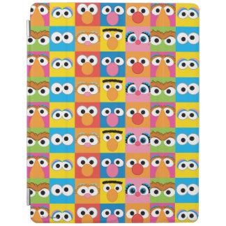 Protection iPad Motif de yeux de caractère de Sesame Street