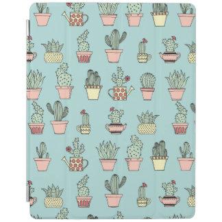 Protection iPad Motif dessiné mignon coloré de style de cactus à