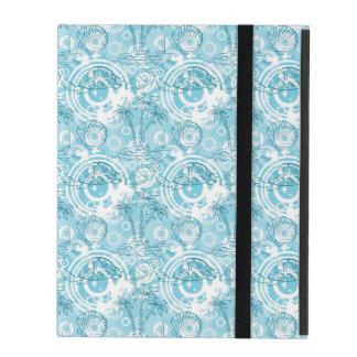 Protection iPad motif exotique d'océan