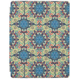 Protection iPad Motif floral ethnique abstrait coloré De de