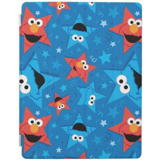 Protection iPad Motif patriotique d'Elmo et de monstre de biscuit
