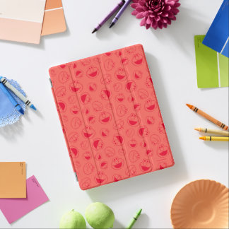 Protection iPad Motif rouge impressionnant d'Elmo |