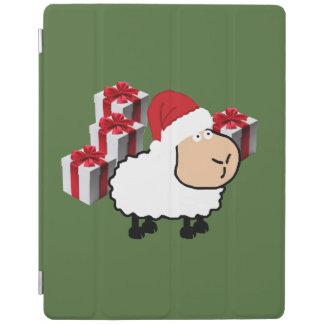 Protection iPad Moutons mignons lunatiques drôles de Noël