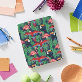Protection iPad Oiseaux tropicaux dans des couleurs lumineuses