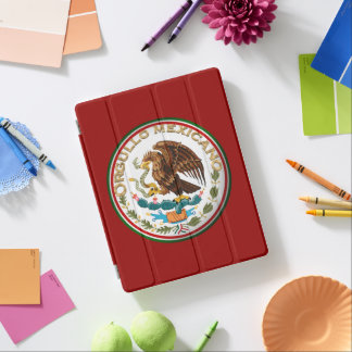 Protection iPad Orgullo Mexicano (Eagle de drapeau mexicain)