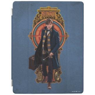 Protection iPad Panneau de marche de Nouveau d'art du TRITON
