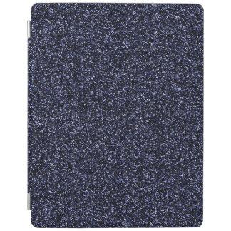 Protection iPad Parties scintillantes bleu-foncé foncées