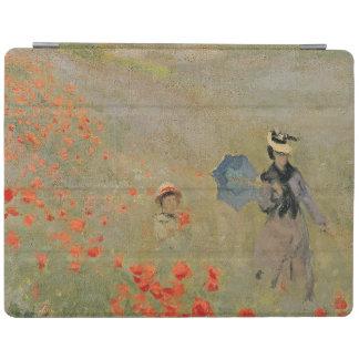 Protection iPad Pavots sauvages de Claude Monet  , près