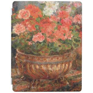 Protection iPad Pierre géraniums de Renoir un | dans un bassin de