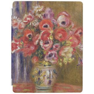 Protection iPad Pierre un vase à Renoir | de tulipes et d'anémones