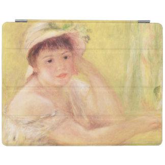 Protection iPad Pierre une femme de Renoir | dans un chapeau de