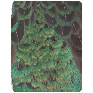 Protection iPad Plumes vertes de faisan de Melanistic