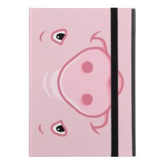 """Protection iPad Pro 9.7"""" Visage rose heureux mignon de porc"""
