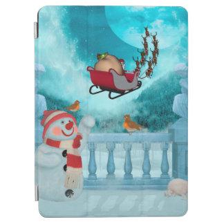 Protection iPad Pro Conception de Noël, le père noël