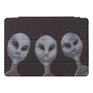 Protection iPad Pro Cover Aliens gris