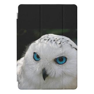 Protection iPad Pro Cover Bleus blancs de hibou