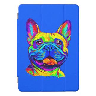 Protection iPad Pro Cover Bouledogue français en couleurs