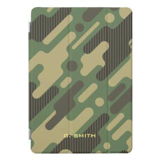 Protection iPad Pro Cover Camouflage géométrique vert. Camo votre