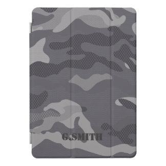 Protection iPad Pro Cover Camouflage gris de texture. Camo votre