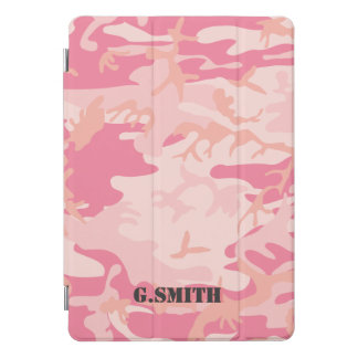 Protection iPad Pro Cover Camouflage rose. Camo votre