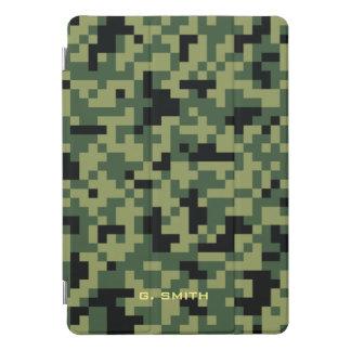 Protection iPad Pro Cover Camouflage vert de pixels. Camo votre