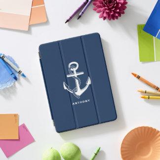 Protection iPad Pro Cover Couverture d'iPad personnalisée par ancre nautique