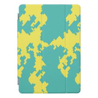 Protection iPad Pro Cover Crique urbaine jaune bleue d'air d'iPad de