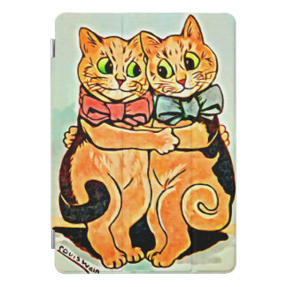 Protection iPad Pro Cover ÉTREINDRE DES CHATS par LOUIS WAIN