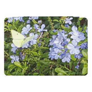 Protection iPad Pro Cover Fleurs bleues de lavande jaune de papillon en parc