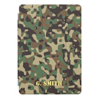 Protection iPad Pro Cover Forest Green et camouflage de Brown. Camo votre
