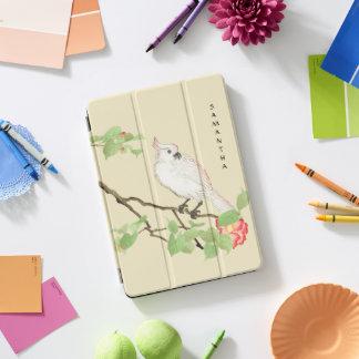 """Protection iPad Pro Cover iPad du camélia japonais vintage 10,5 de cacatoès"""""""
