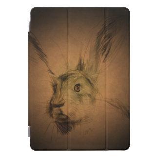Protection iPad Pro Cover La couverture d'iPad de lièvres de Brown