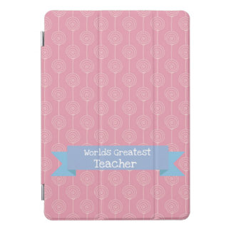 Protection iPad Pro Cover Le plus grand rose de lucette de professeur des
