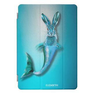 Protection iPad Pro Cover Les lièvres psychédéliques mignons de sirène de