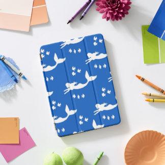 Protection iPad Pro Cover Les sirènes modèlent la couverture bleue et