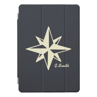 Protection iPad Pro Cover Monogramme. Nautique. Étoile