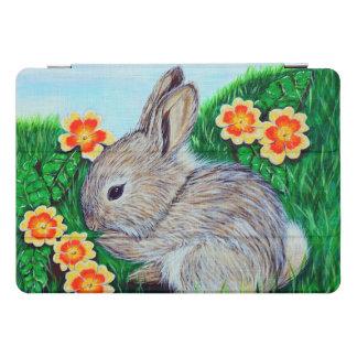 Protection iPad Pro Cover Peinture de lapin de printemps