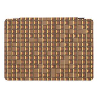 Protection iPad Pro Cover Pyramide d'or abstraite 3D-pattern de torse nu