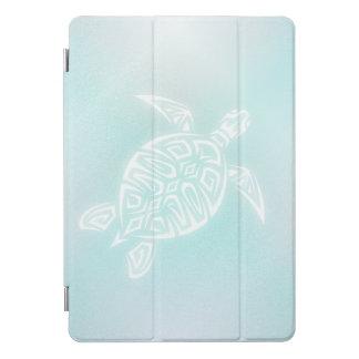Protection iPad Pro Cover Tortue de blanc de turquoise