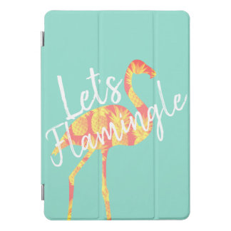 Protection iPad Pro Cover Tropical laissez-nous flamant et ananas de