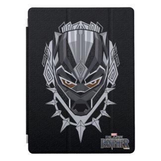 Protection iPad Pro Emblème de tête de panthère noire de la panthère
